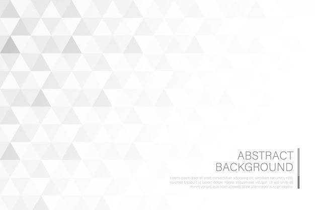 Abstraktes hintergrundgeometrie-dreieck-muster