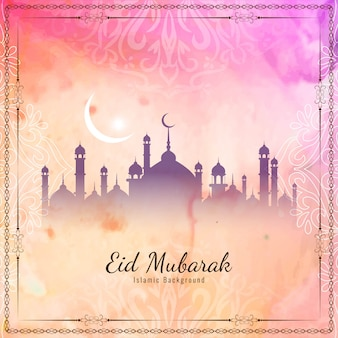 Abstraktes islamisches elegantes eid mubaraks