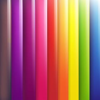 Abstraktes linien-design auf farbhintergrund