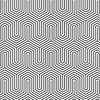 Abstraktes linienmuster des linearen flachen entwurfs
