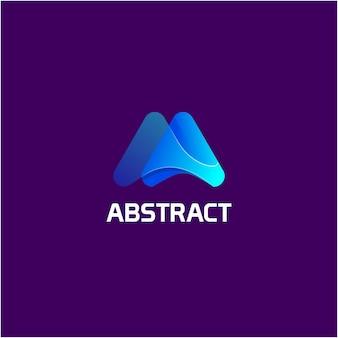 Abstraktes logo-design