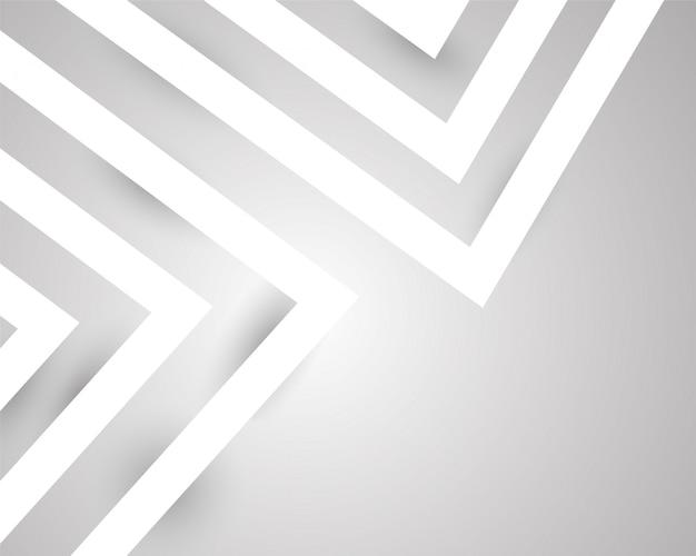 Abstraktes modernes hintergrunddesign des grauen weiß