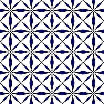 Abstraktes modernes muster blau und weiß