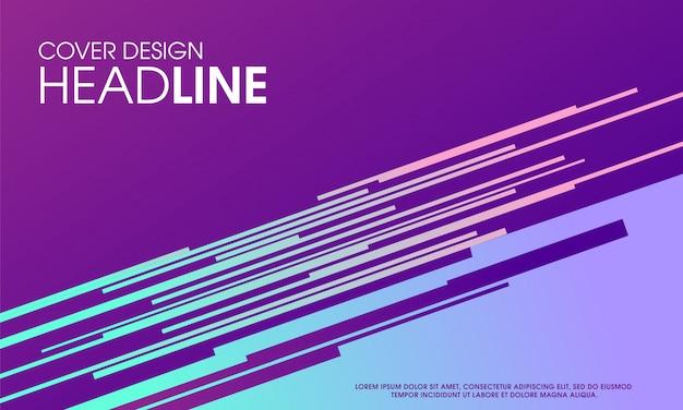 Abstraktes modernes purpurrotes hintergrunddesign