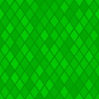 Abstraktes nahtloses muster aus kleinen rauten oder pixeln in grünen farben