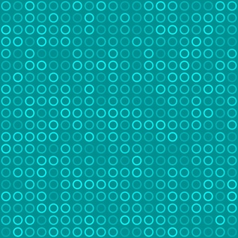 Abstraktes nahtloses muster aus kleinen ringen oder pixeln in hellblauen farben