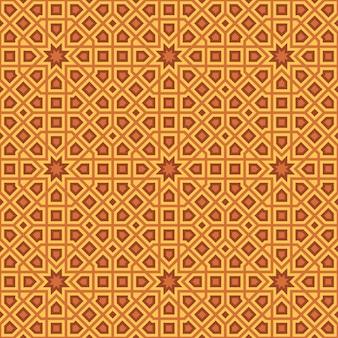 Abstraktes nahtloses muster im arabischen stil