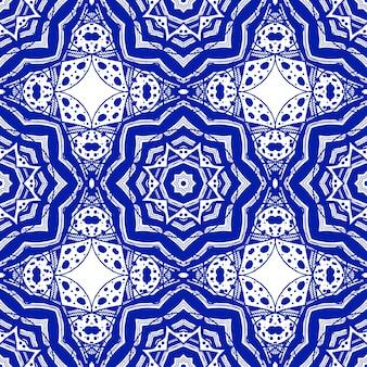 Abstraktes nahtloses muster in der arabischen art, vektorhintergrund