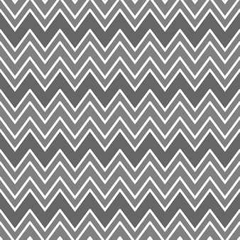 Abstraktes nahtloses muster mit zickzacklinien, die geometrisches ornament in grauen farben chevron-muster bilden