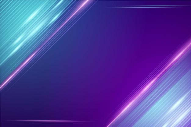 Abstraktes neonlichthintergrunddesign