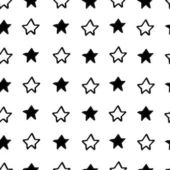 Abstraktes nordisches trandy-muster mit sternen für dekorationsinnenraum, druckplakate, grußkarte, geschäftsbanner, verpackung im modernen skandinavischen stil in vektor. pastellfarbe.