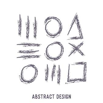 Abstraktes ornament design