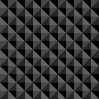 Abstraktes polygon des schwarzen musters nahtlos