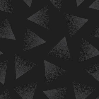 Abstraktes punktiertes nahtloses muster. gepunkteter grunge-hintergrund