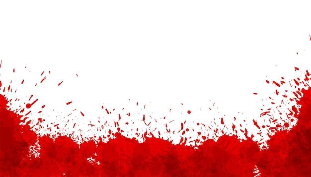 Abstraktes rotes spritzerblut färbt hintergrund