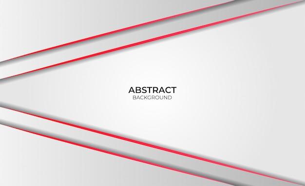 Abstraktes rotes und weißes hintergrunddesign