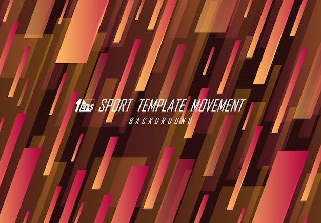 Abstraktes sportdesign des linienmusterformkunsthintergrunds.