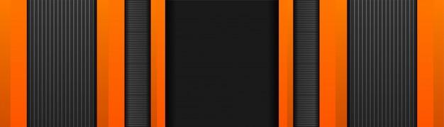Abstraktes sportliches mit orange farbe des hintergrunddesigns