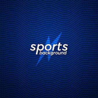 Abstraktes sportvektor-hintergrunddesign