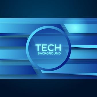 Abstraktes tech-hintergrunddesign