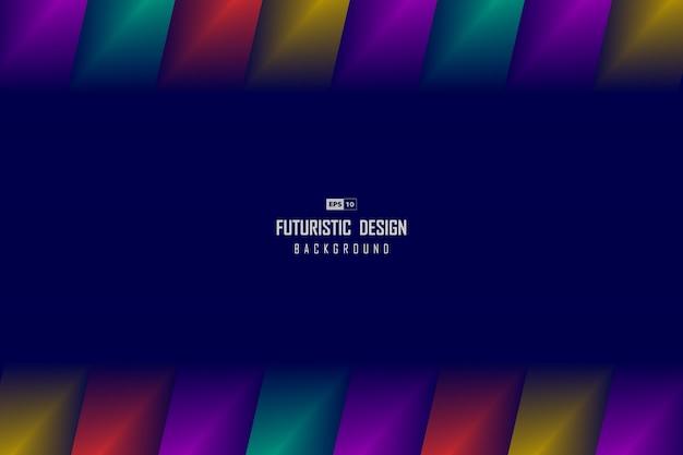 Abstraktes techno-design des hintergrunds der farbverlaufsgrafik auf lila seite.