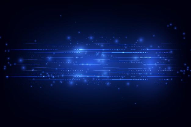 Abstraktes technologie-konzept. vektor-illustration hintergrund
