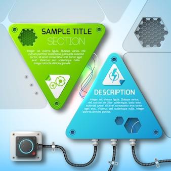 Abstraktes technologiedesign
