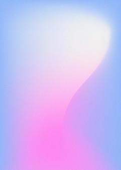 Abstraktes unschärfe-blau-rosa-gradienten-hintergrunddesign