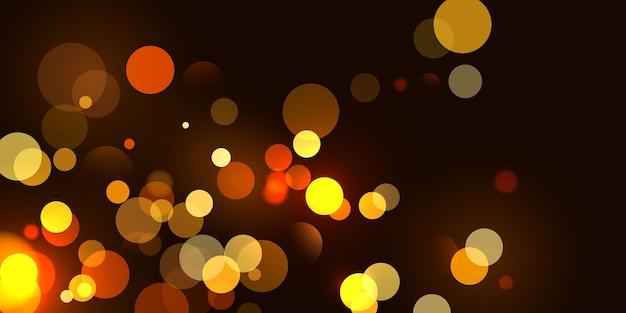 Abstraktes unscharfes lichtelement, das als abdeckung verwendet werden kann