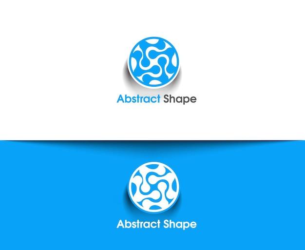 Abstraktes vektorlogo und symboldesign
