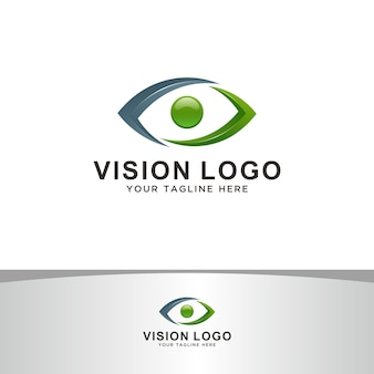 Abstraktes vision-logo