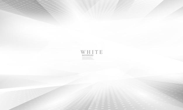 Abstraktes weißes hintergrundplakat mit dynamik. technologie-netzwerk vektor-illustration.