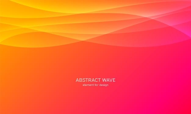 Abstraktes wellenelement für design. digitaler frequenzspur-equalizer.