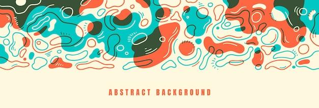 Abstraktes welliges hintergrunddesign