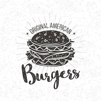 Abzeichen burger