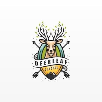 Abzeichen etiketten logo design-elemente