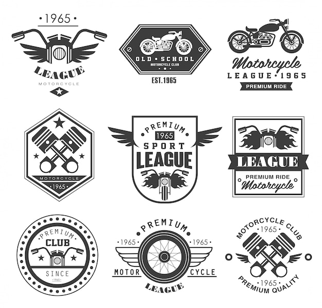 Abzeichen motorrad-sammlungen