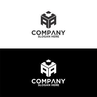 Aca sechseck-buchstaben-logo