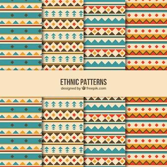 Acht ethnischen mustern