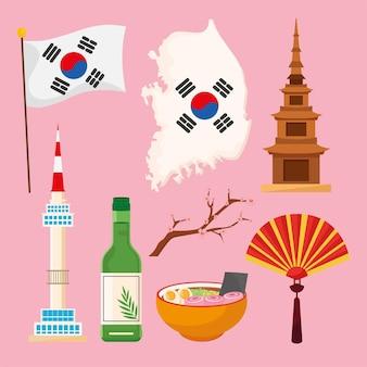 Acht koreanische kulturikonen
