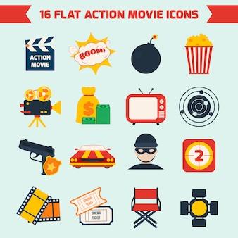 Action-filmset