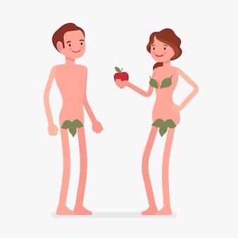Adam und eva bibel erster mann, frau