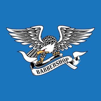 Adler emblem maskottchen