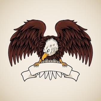Adler hält band