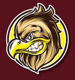 Adler-karikaturvektor