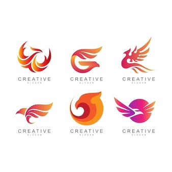 Adler-logo-sammlung