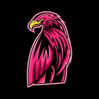 Adler maskottchen design