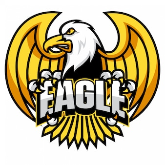 Adler-maskottchen