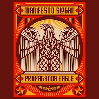 Adler-propagandaposter