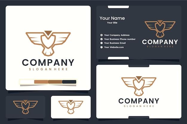 Adler strichzeichnungen, logo-design-inspiration